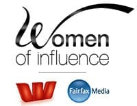 women of influence award
